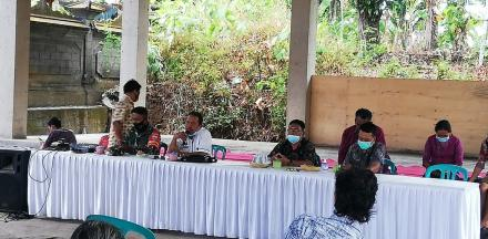 Penyaluran BLT Dana Desa Tahap Ke 7 Di Desa Alasangker